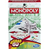 Hasbro Monopoly B10028020 Grab and Go Game