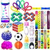 ROSYKIDZ Bundle Sensory Fidget Toys Set, [ 36 PCS ] Stress Relief and Anti-Anxiety Fidget Toy Pack for Kids and Adults, Liqui