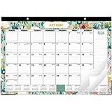 "2021 Desk Calendar - Yearly Desk Calendar 2021, Desk/Wall Monthly Calendar Pad, 17"" x 12"", January 2021 - December 2021, Rule"