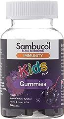 Sambucol Kids Immunity Gummies, 50ct