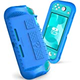 Fintie Kids Case for Nintendo Switch Lite 2019 w/2 Game Card Slots - [Ultralight] [Shockproof] Protective Cover with Ergonomi