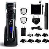 Hatteker Mens Beard Trimmer Hair Trimmer Cordless Hair Clipper Grooming Kit Mustache trimmer Precision Trimmer for Men Hair C