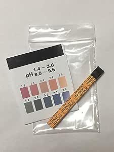 リトマス試験紙・pH試験 20枚 ※測定表20段階(pH1.4~3.0、8.0~9.6)