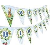 Peter Rabbit Happy Birthday Banner Pennant