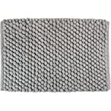 DII Ultra Soft Chunky Chenille Microfiber Memory Foam Spa Bath Rug, Luxury & Absorbent, Place Near Vanity, Bath Tub or Shower