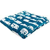 Camco 53440 Life is Better at The Campsite Plush Fleece Blanket, Queen Size - Keeps You Warm While at Home, Camping or on Pic