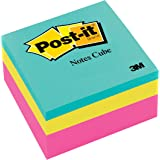 Post-it Notes Cube Pink Wave 76mm x 76mm