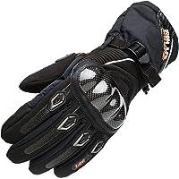 バイクグローブ 冬用 オートバイグローブ 炭素繊維 レーシング手袋 暖かく保つ 防風 防寒 防水 厚い オフロード 手袋…