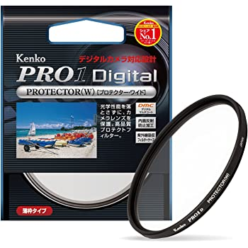 Kenko カメラ用フィルター PRO1D プロテクター (W) 82mm レンズ保護用 252826