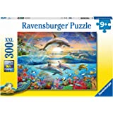 Ravensburger 12895 Dolphin Paradise Puzzle Game 300 Pieces