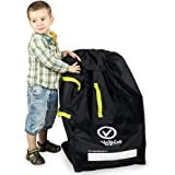 VolkGo Durable Car Seat Travel Bag with Bonus e-Book ?? Ideal Gate Check Bag for Air Travel & Saving Money ?? for Safe Secure