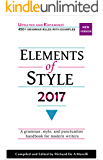 Elements of Style 2017 (English Edition)