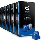 [Amazon限定ブランド] Punto Italia Espresso Journey プント・イタリア・エスプレッソ [Superiore スーペリオーレ] ネスプレッソ互換カプセル 1箱11カプセル入り 5箱セット