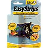 Tetra EasyStrips Ammonia Aquarium Test Strips, 25-Count