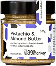 Pistachio & Almond Butter by 99th Monkey (6x200g Jars)