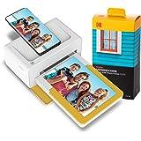コダック Kodak ドックプラス インスタントフォトプリンター カラー スマホ対応 Bluetooth 80シート入り PD460