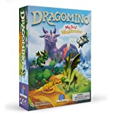 Blue Orange 9011 Games Dragomino, My First Kingdomino- Kid Strategy Game for 2 to 4 Players- Ages 5 and Up