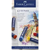 Faber-Castell Creative Studio Oil Pastels – Box of 12, (18-127012)