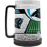 NFL Crystal Freezer Mug | Double-Wall Insulation for Cold Drinks | Refreezable | BPA-Free | 16oz