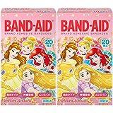 【まとめ買い】BAND-AID(バンドエイド) 救急絆創膏 ディズニープリンセス 20枚×2個