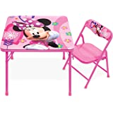 Minnie Mouse Table, Happy Helpers Jr. Activity Table Set with 1 Chair