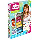 CRAYOLA 04 6239 Creations Mix Your Own Lip Gloss Kit, Creates 6 Lip Glosses / Flavours, Kids!