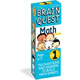 Brain Quest 1st Grade Math Q&A Cards: 750 Questions and Answers to Challenge the Mind. Curriculum-based! Teacher-approved!