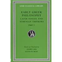 Early Greek Philosophy, Volume VII: Later Ionian and Athenia…