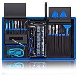 80 in 1 Precision Screwdriver Set,Magnetic Screwdriver Bit Kit,Professional Electronics Repair Tool Kit with Flexible Shaft,P