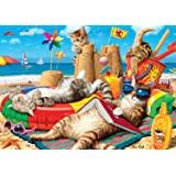 Buffalo Games - Beachcombers - 300 LARGE Piece Jigsaw Puzzle