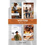 Western Box Set 1-4 July 2020/In Search of the Long-Lost Maverick/A Family for a Week/The Cowboy's Secret Baby/Charmed by the
