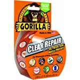 """Gorilla Tape, Crystal Clear Duct Tape, 1.88"""" x 9 yd, Clear"""
