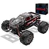 BEZGAR 5 Hobbyist Grade 1:20 Scale Remote Control Truck, 4WD High Speed 30 Km/h All Terrains Electric Toy Off Road RC Monster