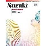 Suzuki Piano School- New International Edition- Volume 3 (Book & CD)