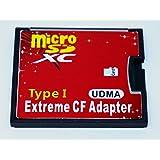 【国内検査品】マイクロSDカードをCFカードに変換(TypeⅠ)2TBまで対応