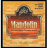 GHS Strings A250 Phosphor Bronze Mandolin Strings, Loop End, Light (.010-.038)