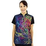 Savalino Women's Bowling Shirts, Professional Jersey Ladies Bowling Tops, S-3XL