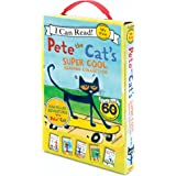 Pete The Cat's Super Cool Reading Collection: Too Cool for School/Play Ball!/Pete at the Beach/Pete's Big Lunch/A Pet for Pet