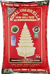 Royal Umbrella Thai Hom Mali Rice, 5kg