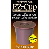 EZ-カップ詰め替え可能 Kカップコーヒー Keurig 用カップ 並行輸入品