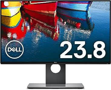 Dell ディスプレイ モニター U2417H 23.8インチ/FHD/IPS非光沢/6ms/DPx2(MST),HDMI/sRGB 99%/USBハブ/フレームレス/3年間保証