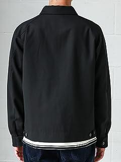 Wool Polyester Blouson 3225-186-2465: Black