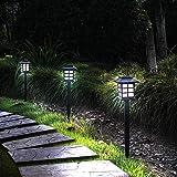 Otdair Solar Path Lights Outdoor - Waterproof LED Solar Pathway Lights Outdoor for Yard, Garden, Path, Landscape, Patio, Walk