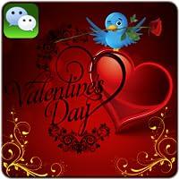 Valentine Day Wechat cards