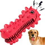 SHANFEEK Dog Chew Toys for Aggressive Chewers Large Breed Squeaky Dog Toys for Medium Dog Toothbrush Indestructible Dog Toys
