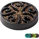 IMHAPO Slow Feeder Dog Bowl, Large 500ml Pet Slow Down Feeding Dishes, Maze Interactive Dog Puzzle, Fun Feeder Bloat Stop Slo