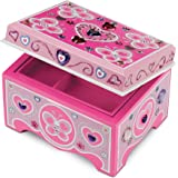 Melissa & Doug 000772088619 Decorate-Your-Own Wooden Jewelry Box Craft Kit, Multi