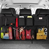 SURDOCA Car Trunk Organizer - 3rd Gen [8 Times Upgrade] Super Capacity Car Hanging Organizer, Equipped with 4 Magic Stick, Ca