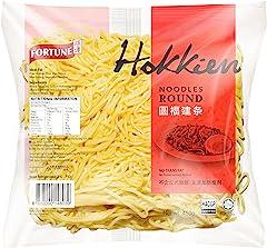 Fortune Hokkien Round Noodles, 450g - Chilled