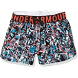 Under Armour Girls' Play Up Printed Workout Gym Shorts